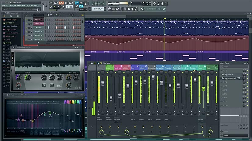 fl studio 12 crack free download full version pc